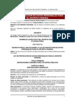 Ley Datos Personales Df