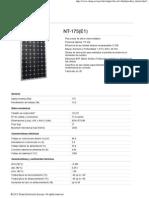 Modulo Sharp Nt175