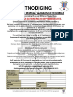 AANKONDIGING RMVW 2013