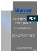 Modelo de Projeto de Pesquisa-unimar