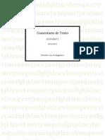 Comentario de Texto, Model Alumne