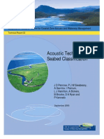 Acoustic Techniques for Seabed Clasification
