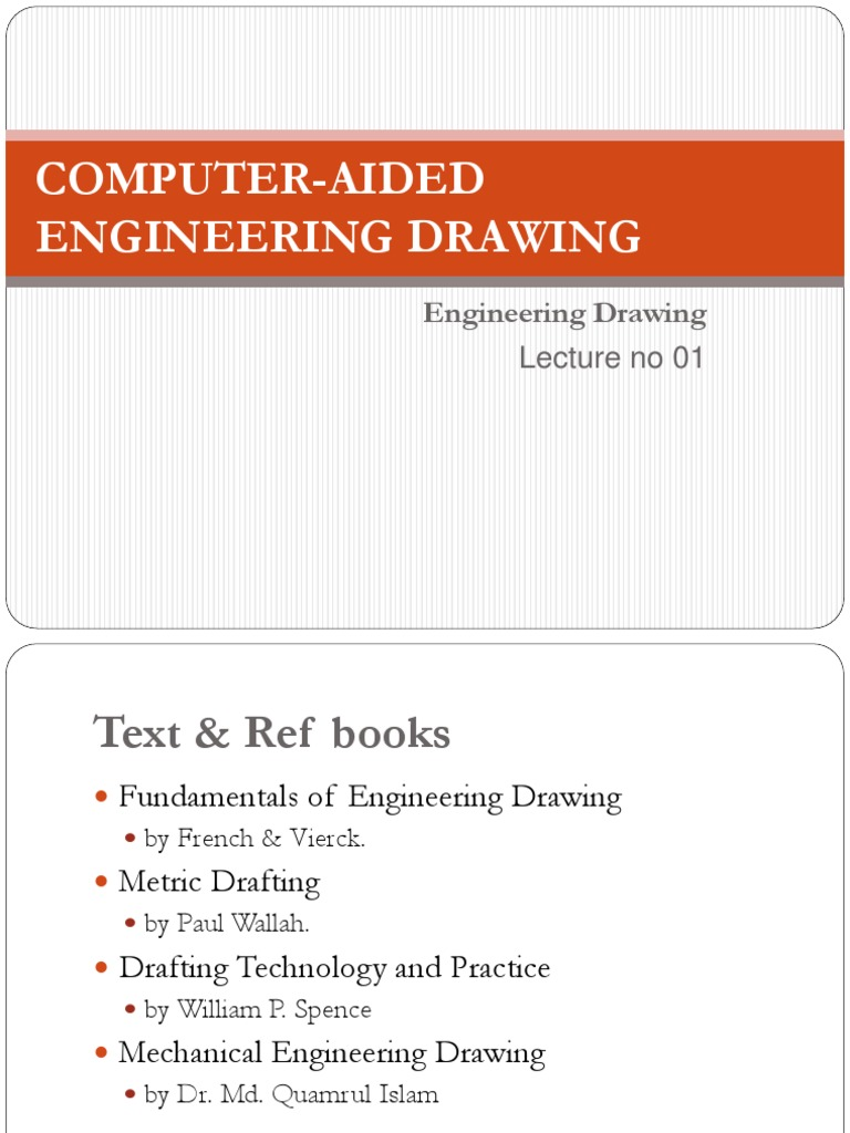 Fundamentals Of Engineering Drawing By French & Vierck Pdf