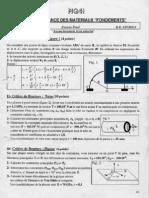 UTBM Resistance Des Materiaux Introduction Aux Calculs Des Structures 1999 GM
