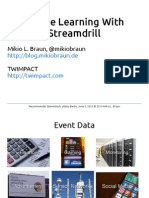 Online Learning with Streamdrill