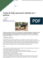 Asanas de Yoga_ Pasos Parta Estimular Las 7 Posturas _ Chakra