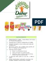 presentation on Dabour