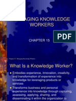 Mod 7 Managing Knowledge Workers