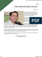 26-05-13 Pedro Pablo Treviño descarta otro Fobaproa
