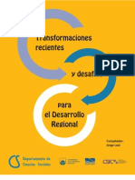 Transformaciones Recientes y Desafios Para El Desarrollo Regional