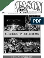 Revista Diapasón Nº 20 (Octubre 2006)