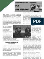 Manifesto Campanha Colorindo a Faculdade de Negro 2012