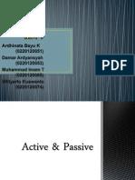 Active & Passive Showw