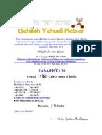 Parashat Qóraj # 38 Adul 6013
