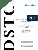 Stress and Strain Estimation