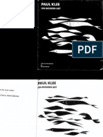 Paul Klee on Modernism