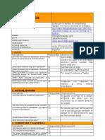 Ficha de evaluación texto español 1