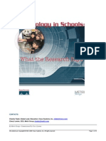 Technology in Schools Report