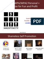 Vivek Hacktivity 2012