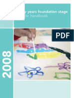 Early Years Foundation Stage Profile Handbook and Assessment Scales Reference Sheet