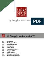 13. Doppler Radar and MTI_2013