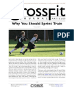 Why should you sprint train Crossfit