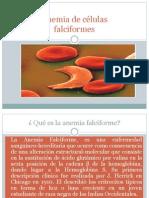 Anemia de células
