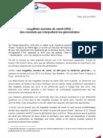 Communique de Presse MG France - IsS - 5 Juin 2013