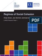 Z. Regimes of Social Cohesion