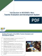 Teacher Evaluation and Development Policy Presentation 20130604 FINAL