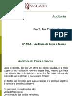 6a Aula Auditoria Caixa Bancos