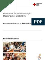 Praesentation Zur LLU Erste Hilfe Deutsch 2010