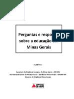 Perguntas e Respostas Sobre a Educacao Em Minas Gerais
