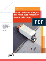 Accounting Issues and Solutions for the Retail and Consumer Goods Industries