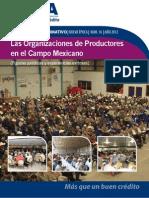016 Las Organizaciones de Productores en El Campo Mexicano