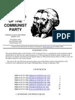 Karl Marx - Communist Manifesto