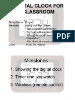 Presentation on Milestone 1