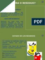 DIAPOSITIVAS RESIDUOS SOLIDOS