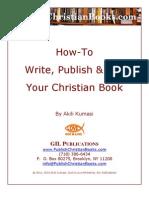 How to write a Christian ebook