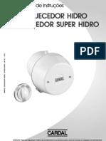 Manual AquecedorHidro SuperHidro IM331 R03