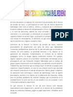 Tecnicas y Estrategias Psicologia