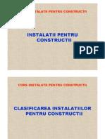 Curs Instalatiilor Pentru Constructii