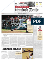 04/17/09 The Stanford Daily [PDF]
