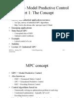 MPC Concepts