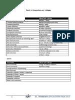 U S Talk 23-5-2013 College List
