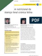 Abordagem nutricional da doença renal crónica felina