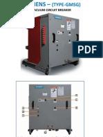 Siemens GMSG Vacuum Breaker PowerPoint