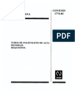 30 Tubos Polietil Alta Dens 1774-81
