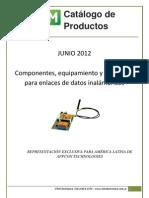 Catálogo electronica Junio 2012