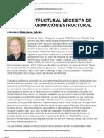 Mészáros, I. - LA CRISIS ESTRUCTURAL NECESITA DE UNA TRANSFORMACIÓN ESTRUCTURAL